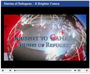 Stories of Refugees video
